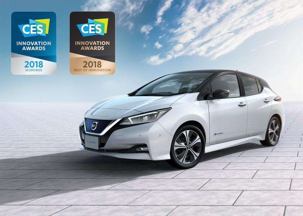 Award winning Nissan LEAF - Front