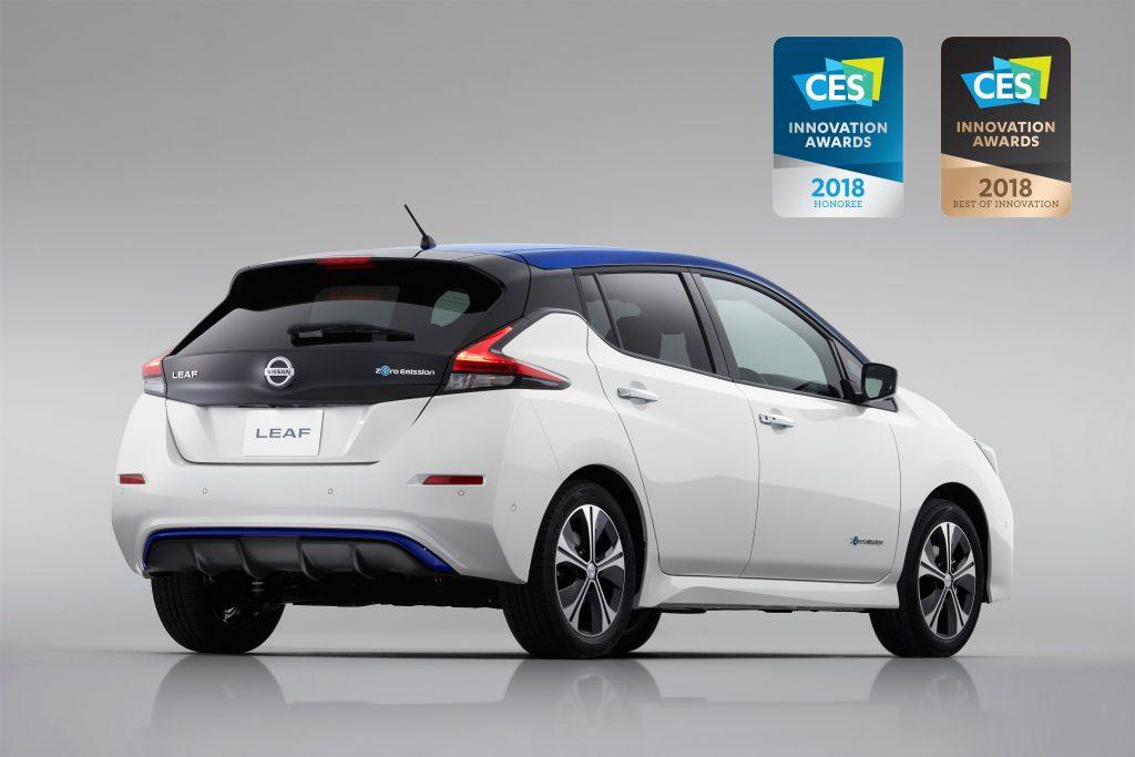Award winning Nissan LEAF - Rear